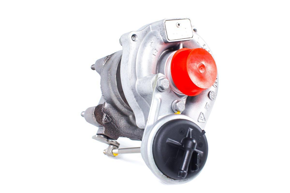 Turbosprężarka z numerem {numerglowny} po przywróceniu do pełnej sprawności w najwyższej jakości pracowni regeneracji turbo przed wysłaniem do kontrahenta