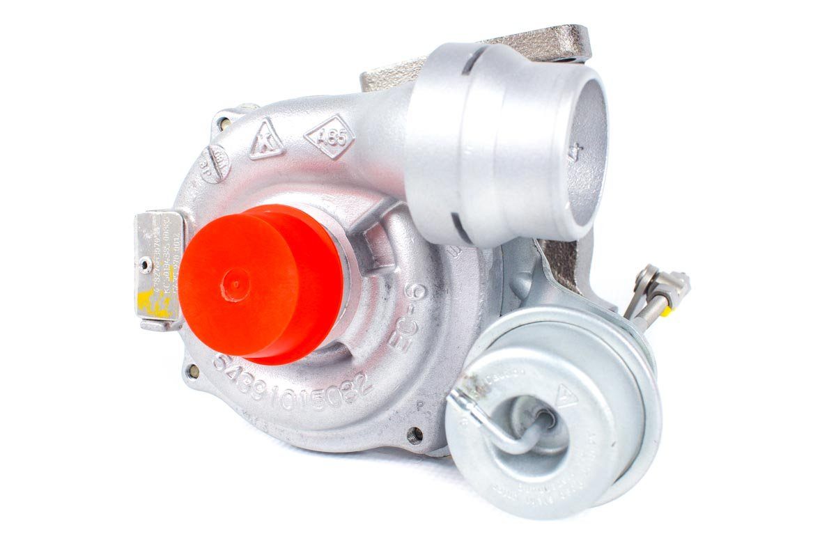Turbina numer {numerglowny} po naprawie w specjalistycznej pracowni regeneracji turbosprężarek przed nadaniem do warsztatu