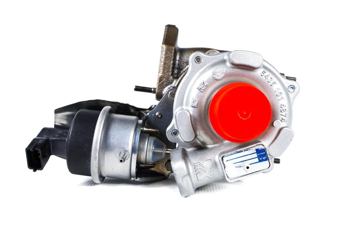 Turbosprężarka o numerze {numerglowny} po przywróceniu do pełnej sprawności w najwyższej jakości pracowni regeneracji turbosprężarek przed odesłaniem do warsztatu