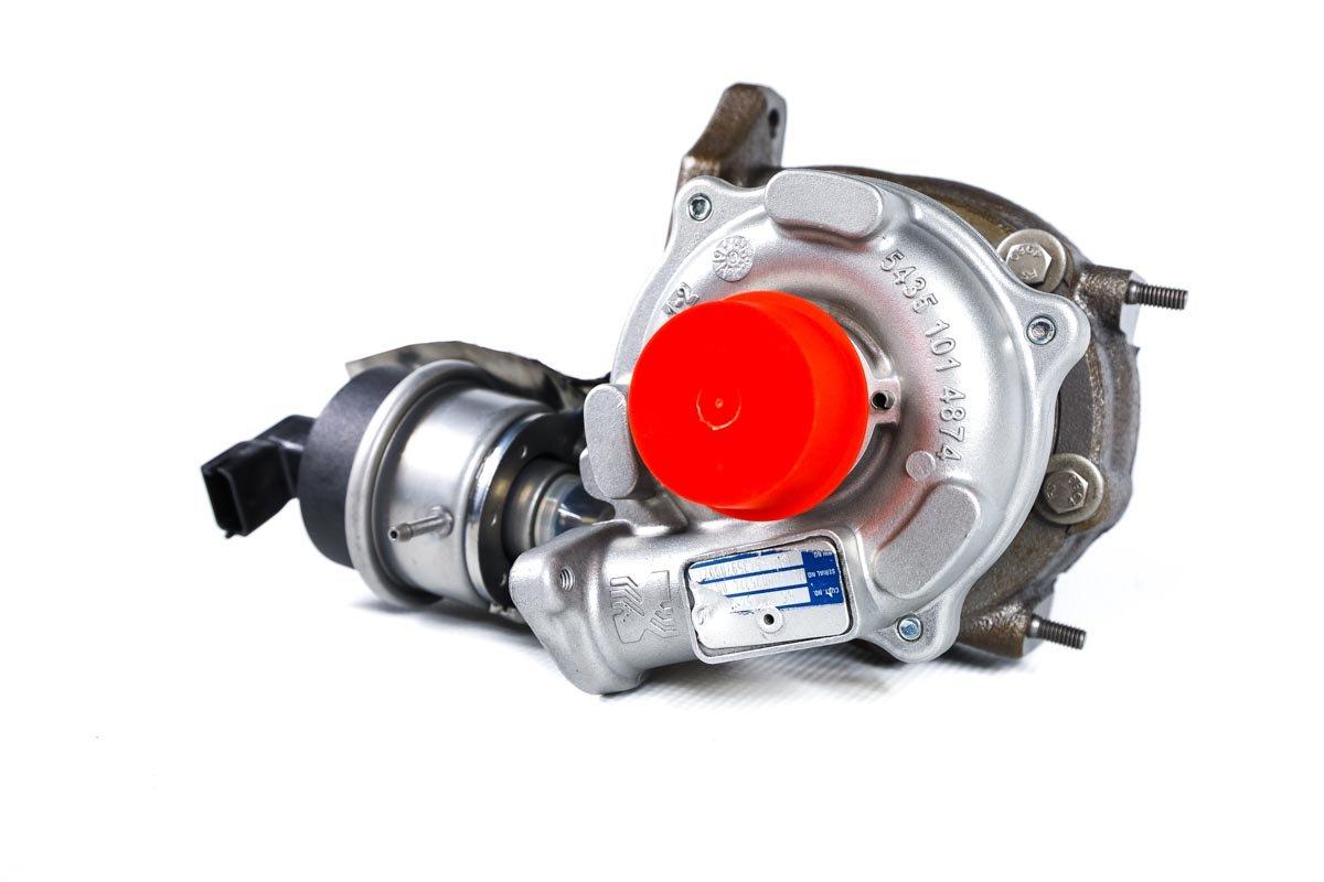 Turbosprężarka z numerem {numerglowny} po naprawie w najnowocześniejszej pracowni regeneracji turbosprężarek przed odesłaniem do kontrahenta