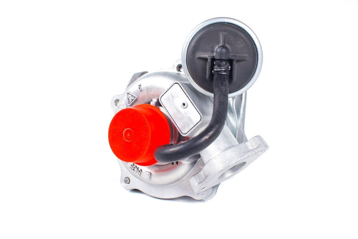 Turbosprężarka z numerem {numerglowny} po naprawie w najnowocześniejszej pracowni przed wysyłką do zamawiającego