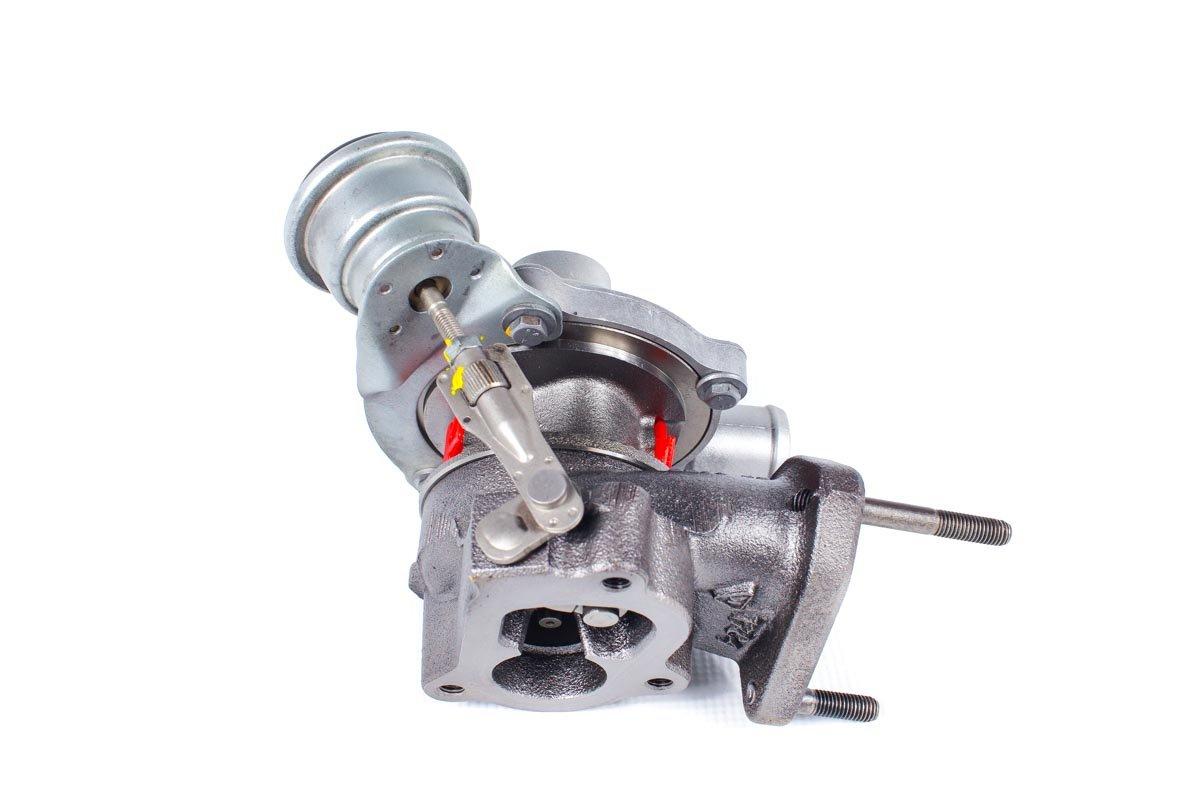 Turbosprężarka z numerem {numerglowny} po naprawie w najnowocześniejszej pracowni przed odesłaniem do zamawiającego