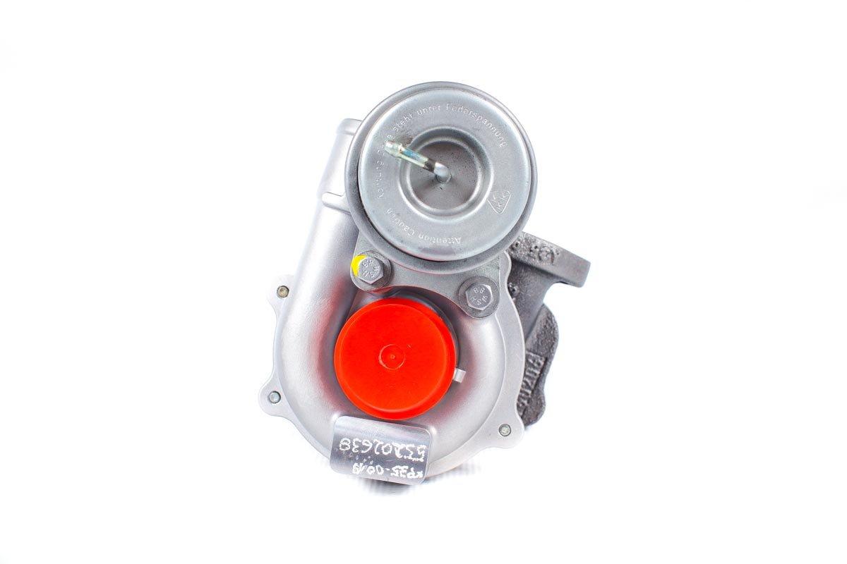 Turbosprężarka o numerze {numerglowny} po przywróceniu do pełnej sprawności w najwyższej jakości pracowni regeneracji turbosprężarek przed wysyłką do warsztatu samochodowego