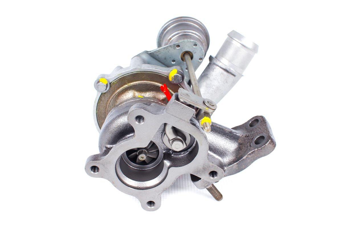 Turbosprężarka o numerze {numerglowny} po przywróceniu do pełnej sprawności w najwyższej jakości pracowni regeneracji turbosprężarek przed wysyłką do kontrahenta