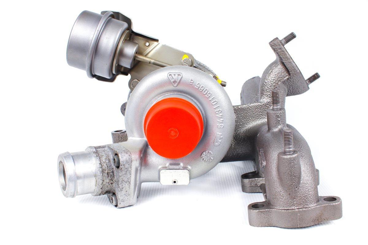 Turbosprężarka o numerze {numerglowny} po naprawie w najnowocześniejszej pracowni regeneracji turbosprężarek przed wysłaniem do zamawiającego