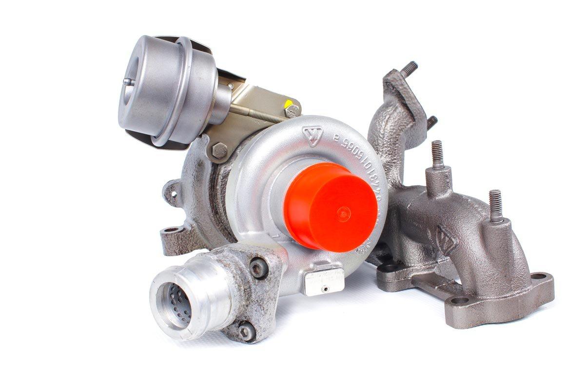 Turbosprężarka z numerem {numerglowny} po naprawie w specjalistycznej pracowni regeneracji turbosprężarek przed odesłaniem do zamawiającego