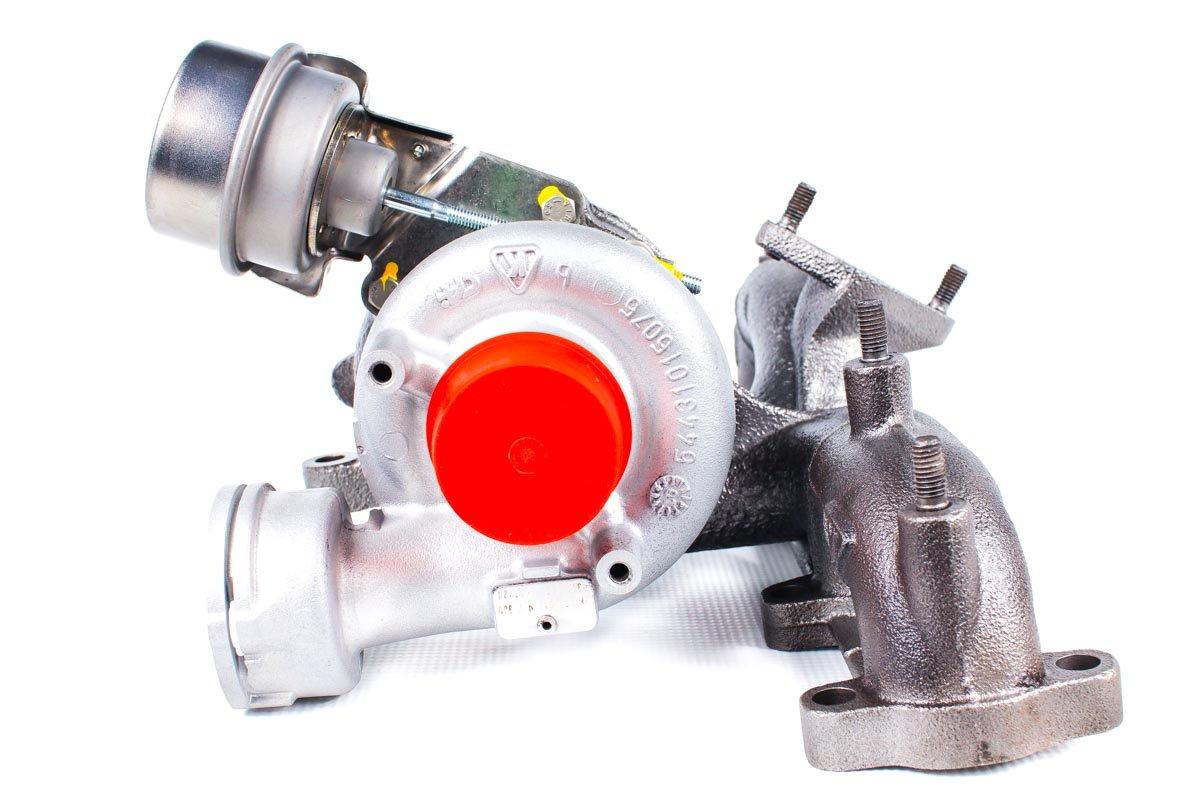 Turbosprężarka o numerze {numerglowny} po naprawie w najnowocześniejszej pracowni regeneracji turbosprężarek przed nadaniem do zamawiającej firmy