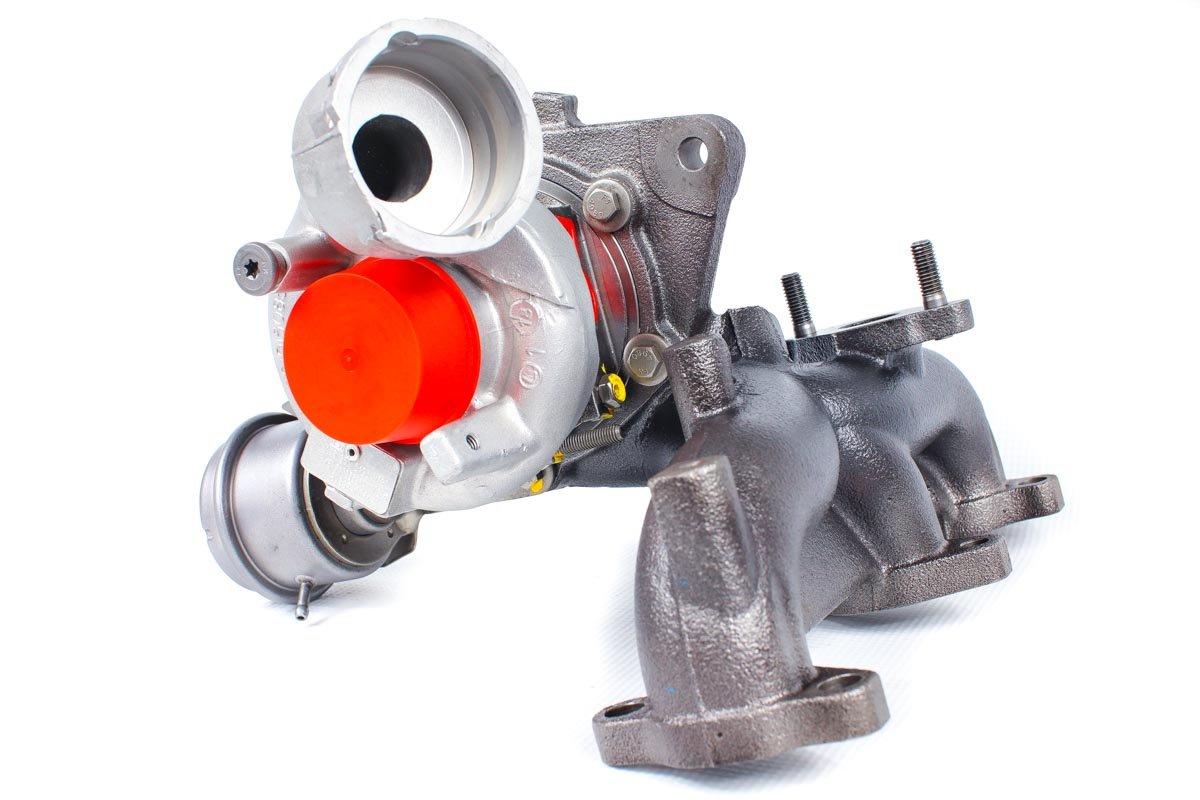 Turbosprężarka z numerem {numerglowny} po naprawie w specjalistycznej pracowni regeneracji turbin przed wysłaniem do warsztatu