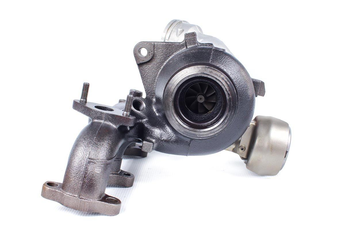 Turbo, układ doładowania o numerze {numerglowny} po regeneracji w specjalistycznej pracowni regeneracji turbosprężarek przed wysyłką do zamawiającego