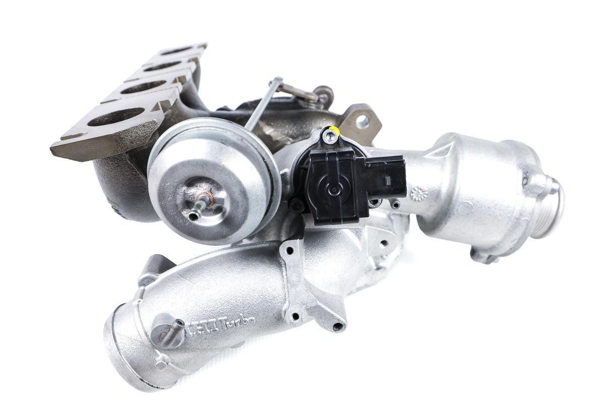 Turbo, układ doładowania o numerze {numerglowny} po regeneracji w specjalistycznej pracowni regeneracji turbosprężarek przed wysłaniem do zamawiającej firmy