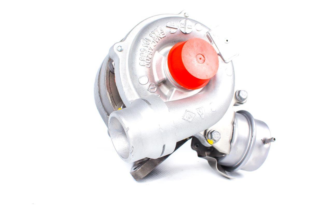 Turbosprężarka z numerem {numerglowny} po naprawie w profesjonalnej pracowni przed wysłaniem do zamawiającej firmy