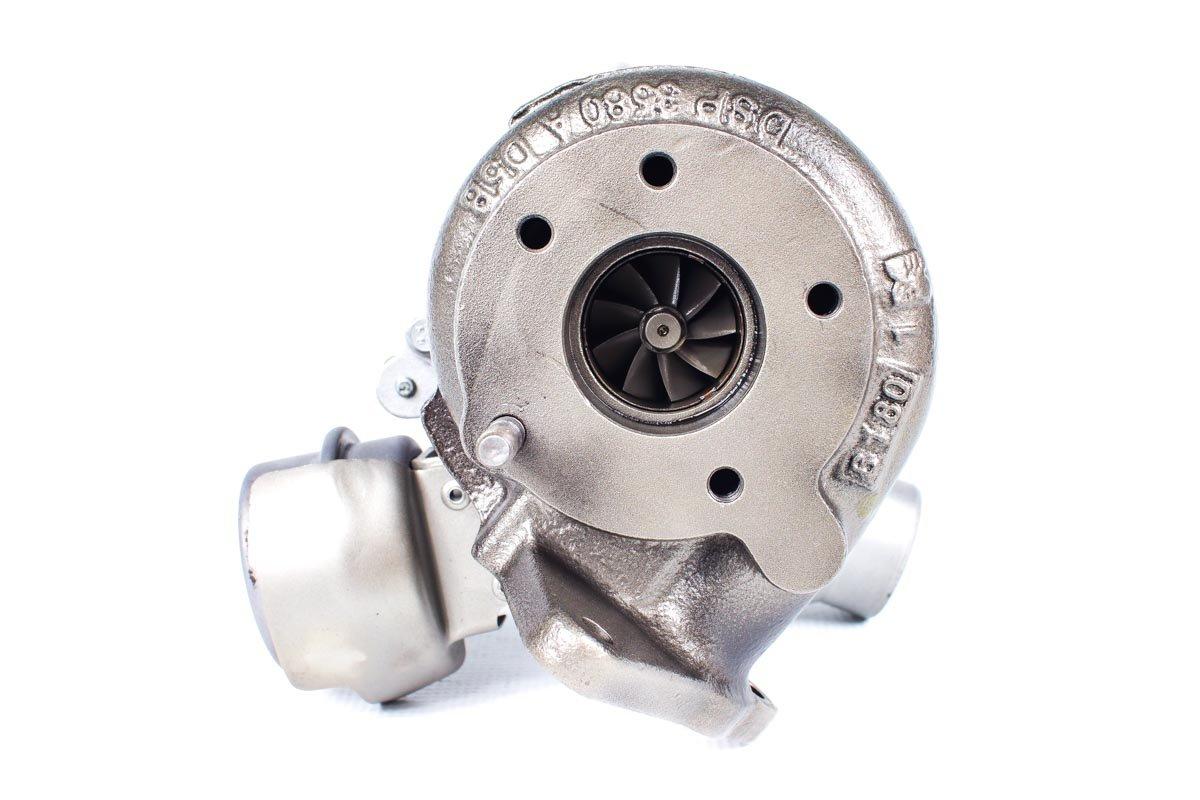 Turbo, układ doładowania o numerze {numerglowny} po regeneracji w specjalistycznej pracowni regeneracji turbosprężarek przed odesłaniem do zamawiającej firmy