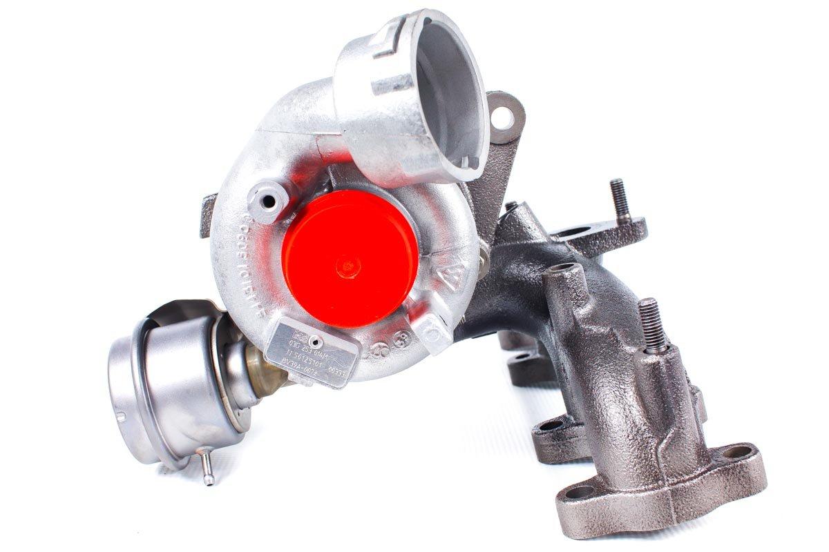 Turbosprężarka o numerze {numerglowny} po naprawie w specjalistycznej pracowni przed wysyłką do kontrahenta