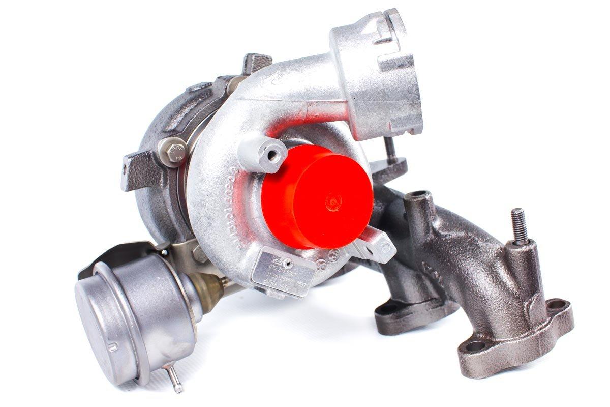 Turbosprężarka z numerem {numerglowny} po naprawie w profesjonalnej pracowni przed nadaniem do kontrahenta