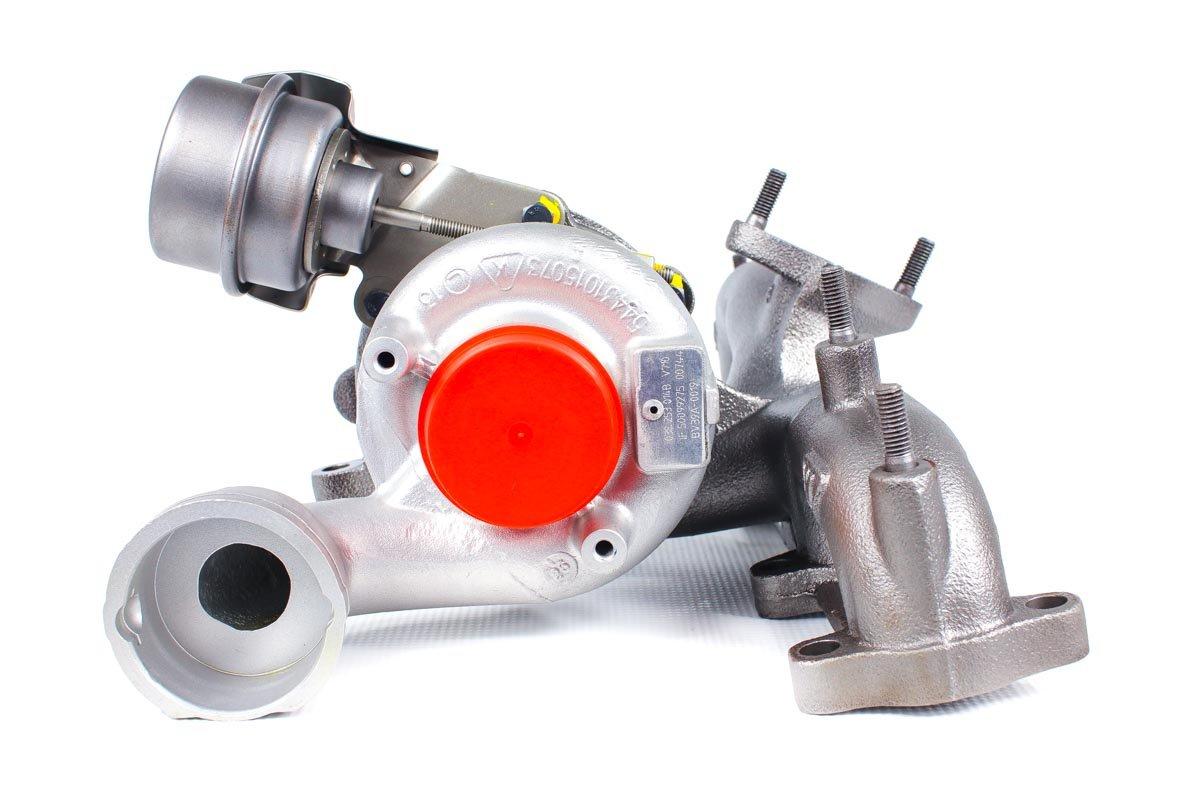 Turbosprężarka o numerze {numerglowny} po naprawie w najnowocześniejszej pracowni regeneracji turbo przed wysyłką do zamawiającego
