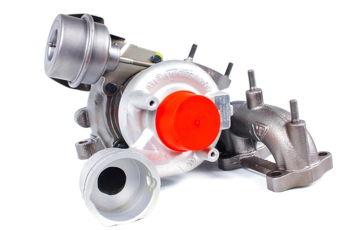 Turbosprężarka z numerem {numerglowny} po naprawie w specjalistycznej pracowni regeneracji turbo przed odesłaniem do Klienta
