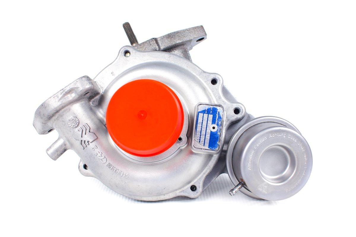 Turbosprężarka o numerze {numerglowny} po naprawie w specjalistycznej pracowni przed wysłaniem do warsztatu