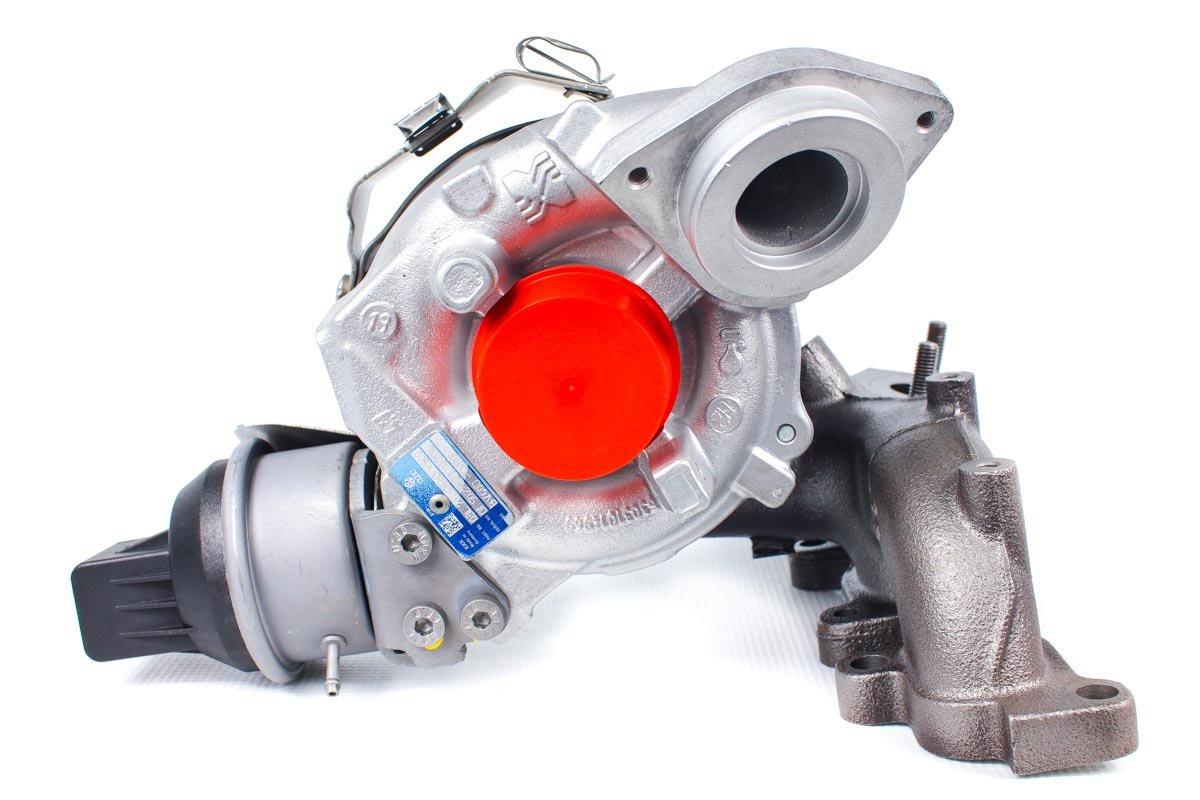 Turbosprężarka o numerze {numerglowny} po naprawie w specjalistycznej pracowni regeneracji turbo przed odesłaniem do Klienta