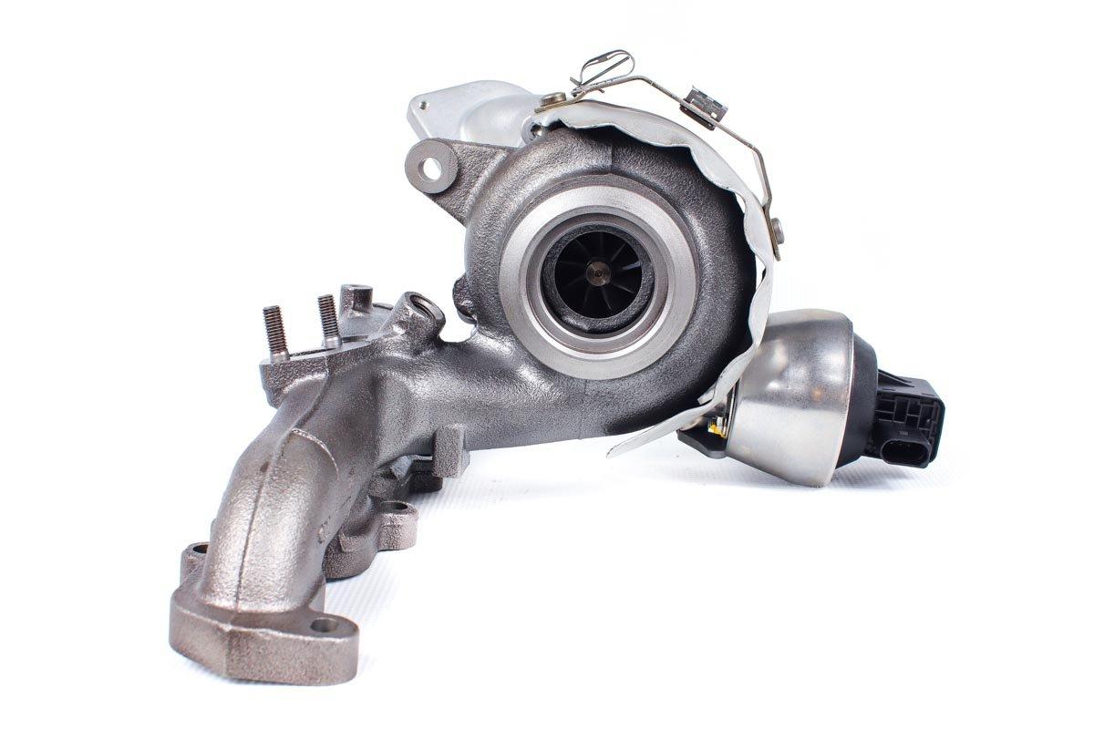 Turbo, układ doładowania o numerze {numerglowny} po regeneracji w specjalistycznej pracowni regeneracji turbo przed odesłaniem do warsztatu samochodowego