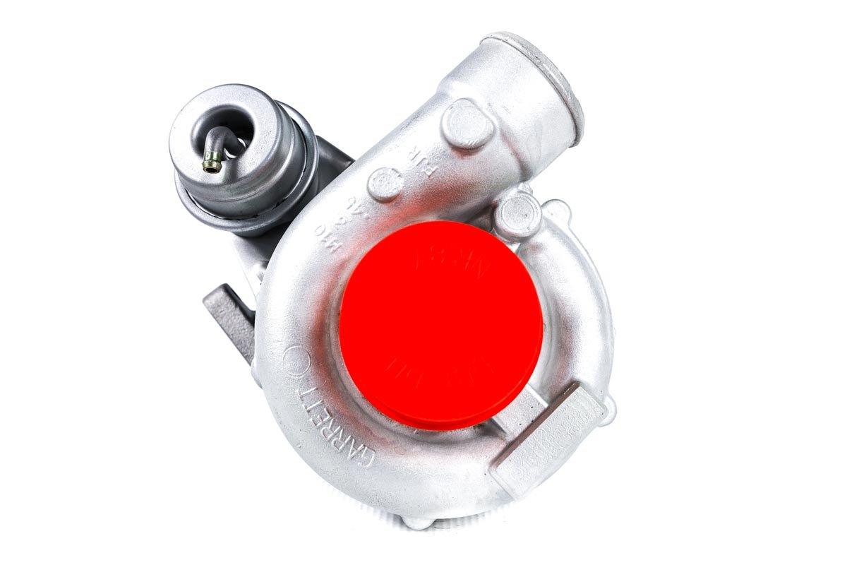 Turbosprężarka o numerze {numerglowny} po naprawie w profesjonalnej pracowni przed odesłaniem do Klienta