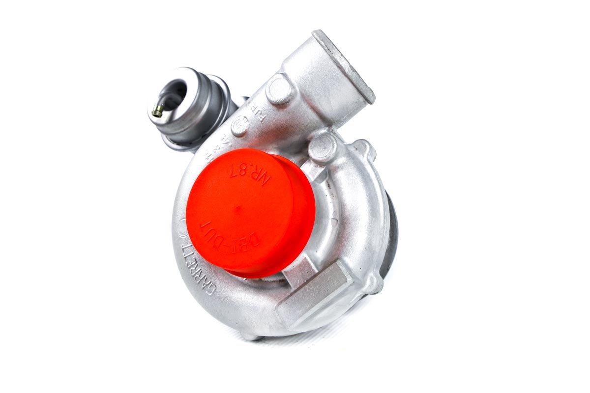 Turbosprężarka z numerem {numerglowny} po naprawie w najwyższej jakości pracowni regeneracji turbosprężarek przed wysłaniem do Klienta