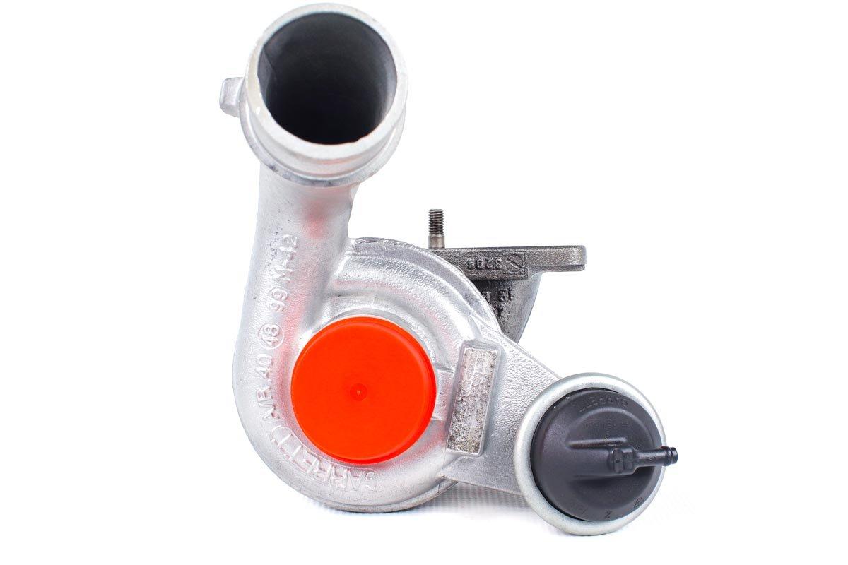 Turbosprężarka o numerze {numerglowny} po naprawie w profesjonalnej pracowni regeneracji turbosprężarek przed wysłaniem do Klienta