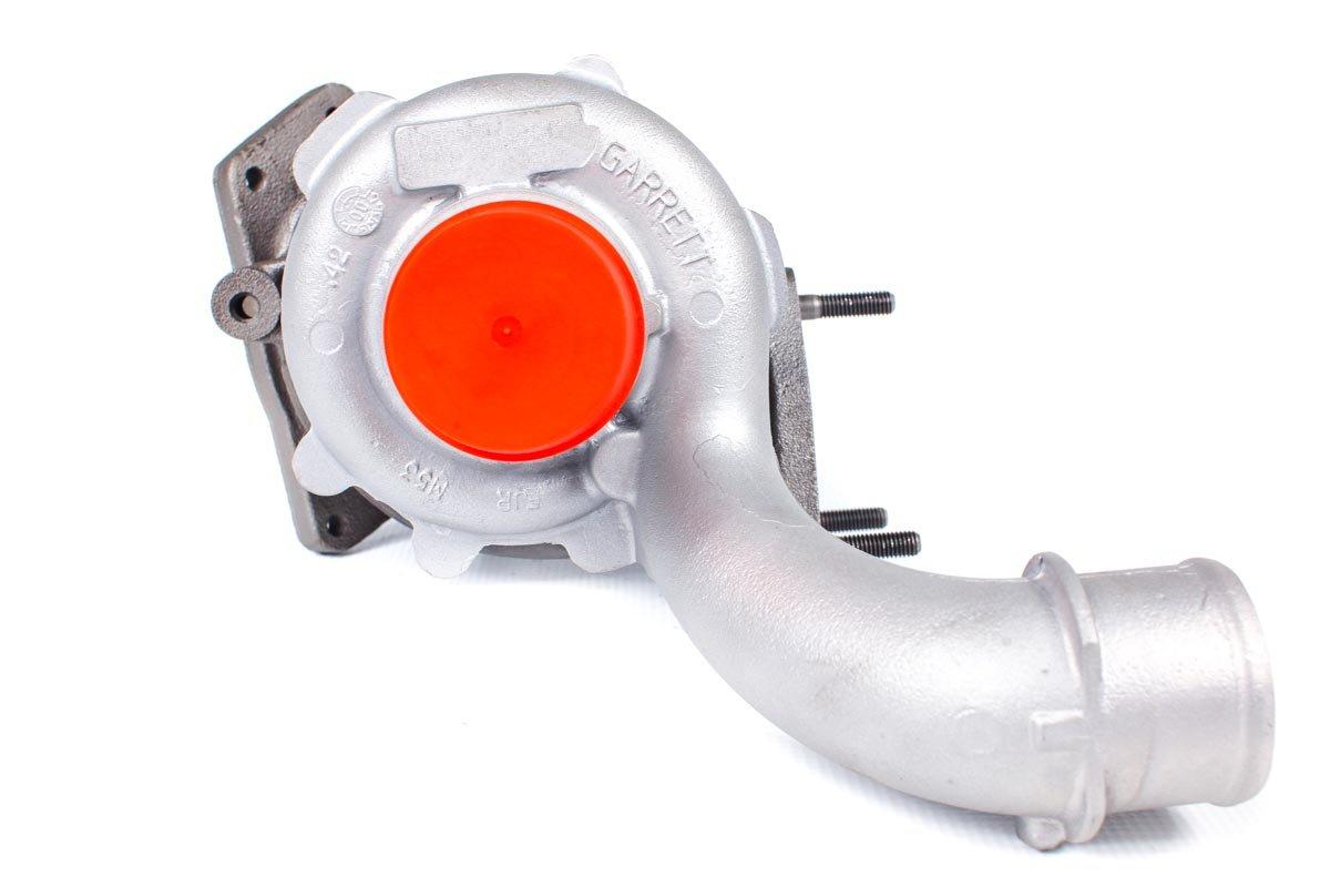 Turbosprężarka o numerze {numerglowny} po naprawie w profesjonalnej pracowni regeneracji turbosprężarek przed odesłaniem do warsztatu samochodowego