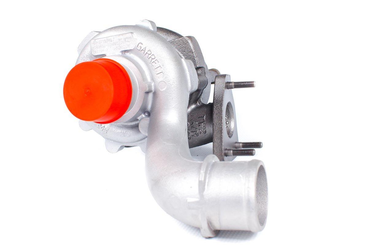 Turbosprężarka z numerem {numerglowny} po naprawie w najwyższej jakości pracowni regeneracji turbo przed wysłaniem do warsztatu samochodowego