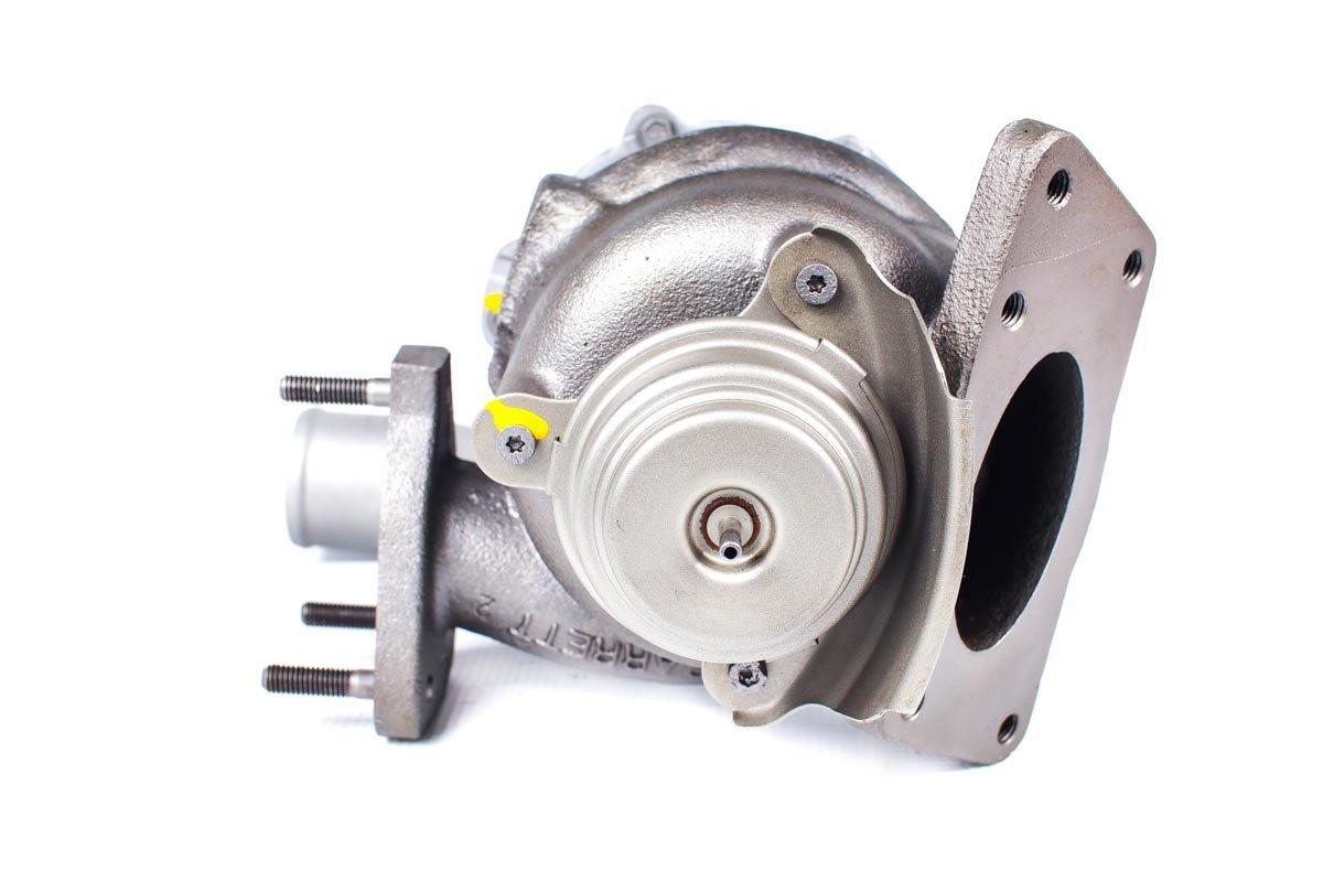 Turbo, układ doładowania o numerze {numerglowny} po regeneracji w profesjonalnej pracowni regeneracji turbin przed odesłaniem do warsztatu samochodowego