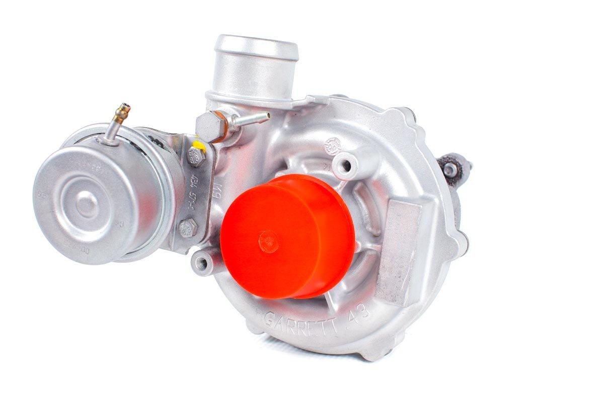 Turbosprężarka z numerem {numerglowny} po naprawie w najwyższej jakości pracowni regeneracji turbo przed odesłaniem do warsztatu