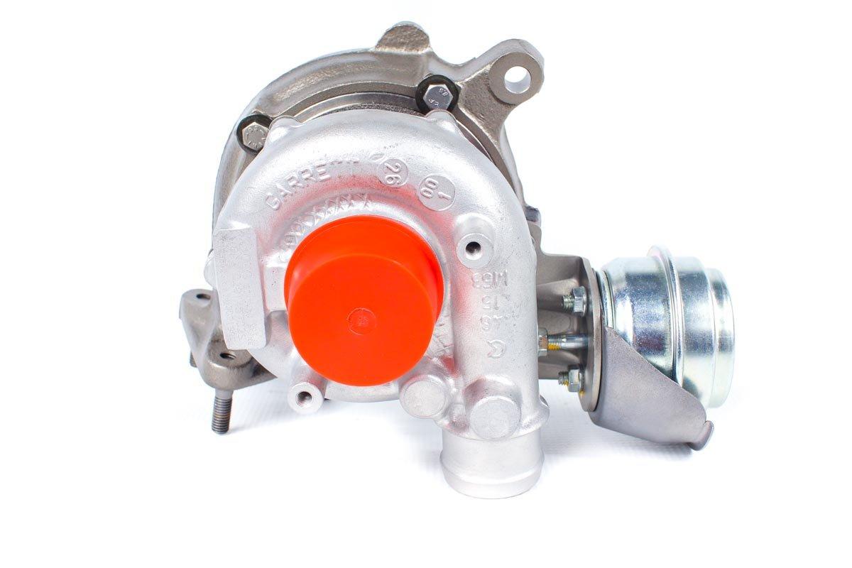 Turbosprężarka o numerze {numerglowny} po naprawie w najwyższej jakości pracowni przed odesłaniem do zamawiającego