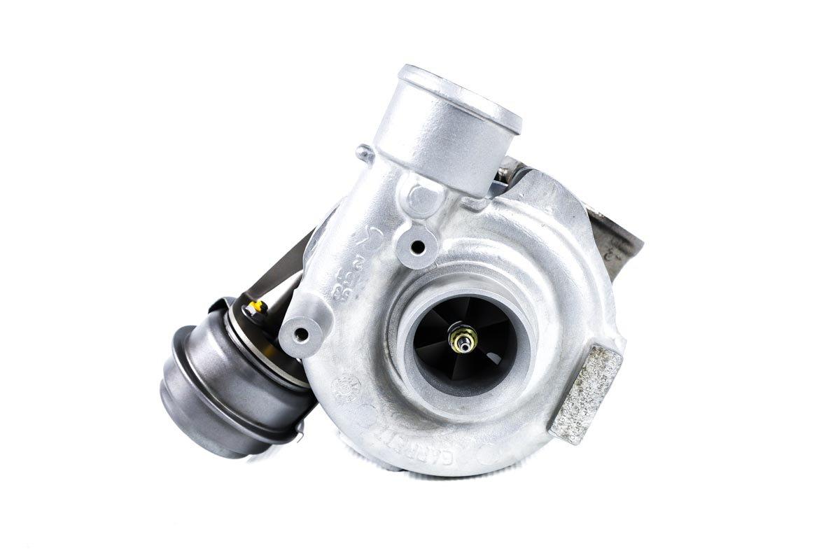 Turbosprężarka o numerze {numerglowny} po naprawie w najwyższej jakości pracowni regeneracji turbo przed wysłaniem do zamawiającej firmy