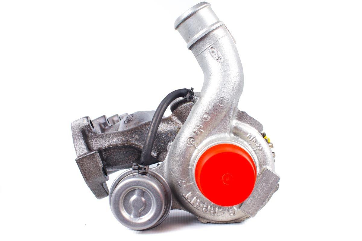Turbosprężarka o numerze {numerglowny} po naprawie w najwyższej jakości pracowni regeneracji turbo przed odesłaniem do zamawiającego