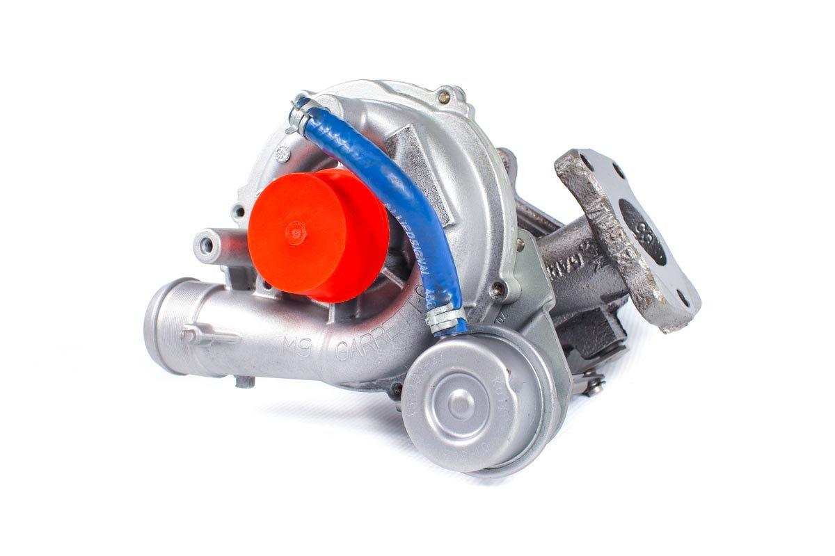 Turbosprężarka o numerze {numerglowny} po naprawie w najwyższej jakości pracowni regeneracji turbin przed wysyłką do kontrahenta