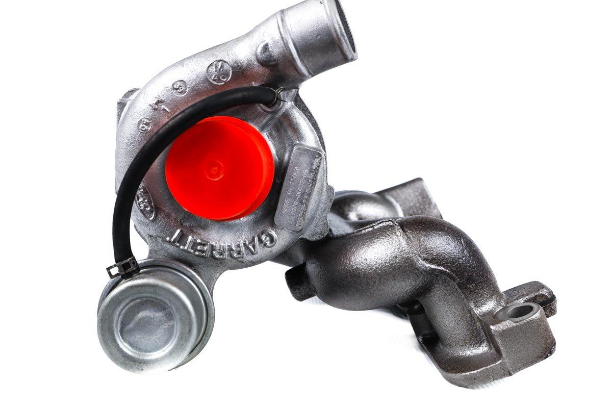Turbosprężarka numer {numerglowny} po regeneracji w najnowocześniejszej pracowni regeneracji turbosprężarek przed odesłaniem do warsztatu