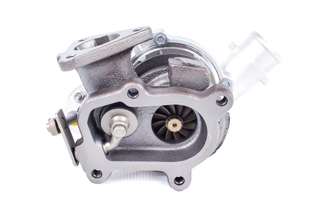 Turbo, układ doładowania o numerze {numerglowny} po zregenerowaniu w specjalistycznej pracowni regeneracji turbosprężarek przed wysyłką do zamawiającej firmy