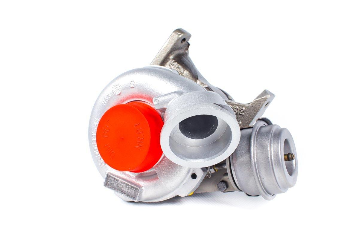 Turbina z numerem {numerglowny} po regeneracji w najwyższej jakości pracowni regeneracji turbosprężarek przed odesłaniem do warsztatu samochodowego