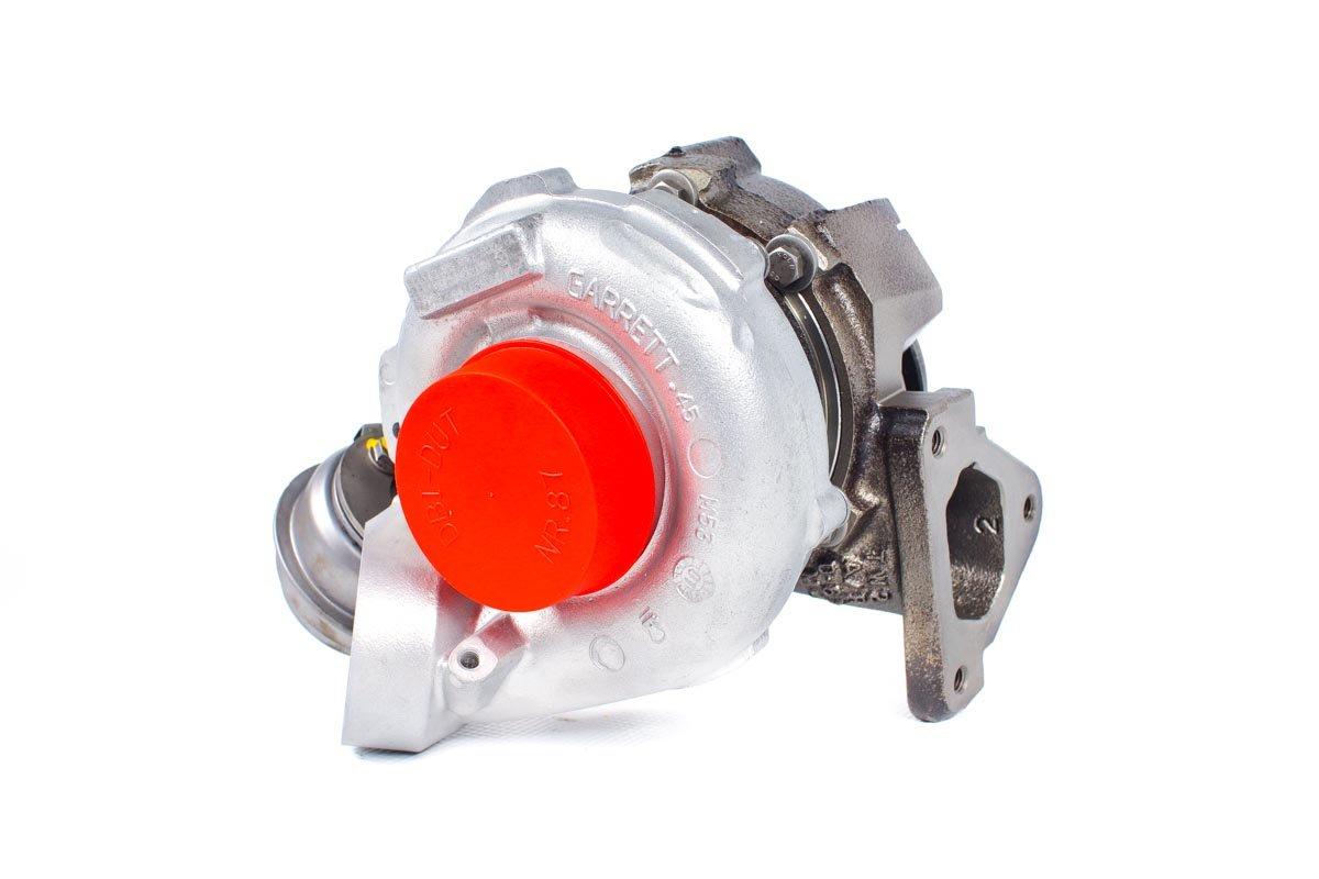 Turbosprężarka numer {numerglowny} po regeneracji w specjalistycznej pracowni regeneracji turbo przed odesłaniem do zamawiającej firmy