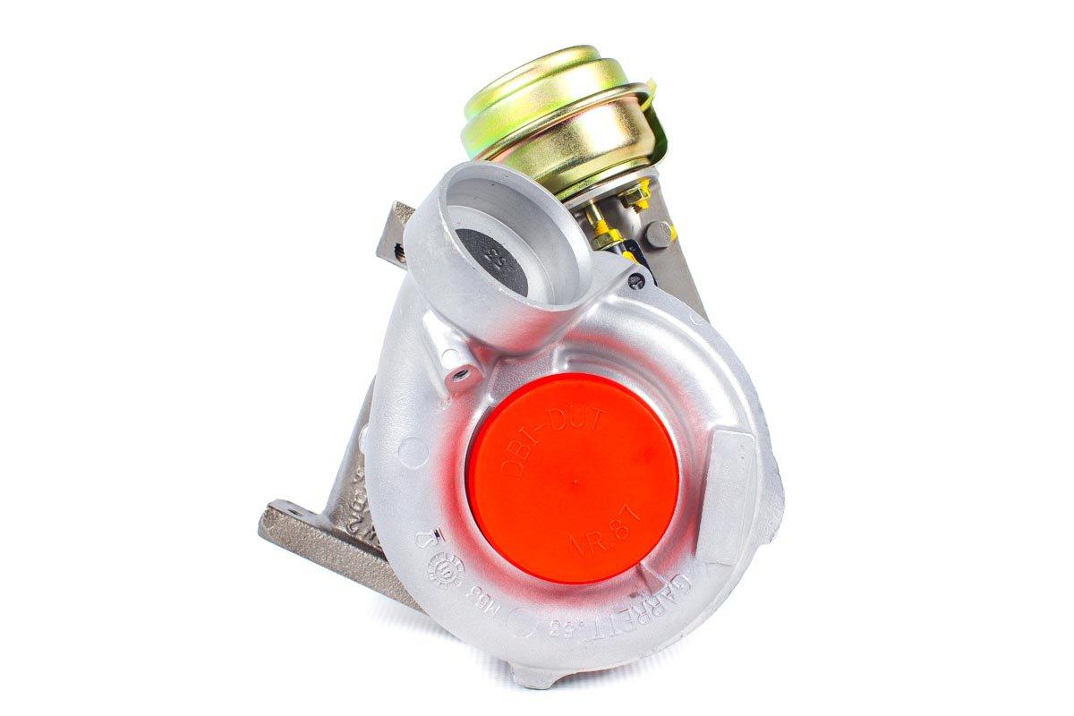 Turbosprężarka numer {numerglowny} po regeneracji w specjalistycznej pracowni regeneracji turbo przed odesłaniem do kontrahenta