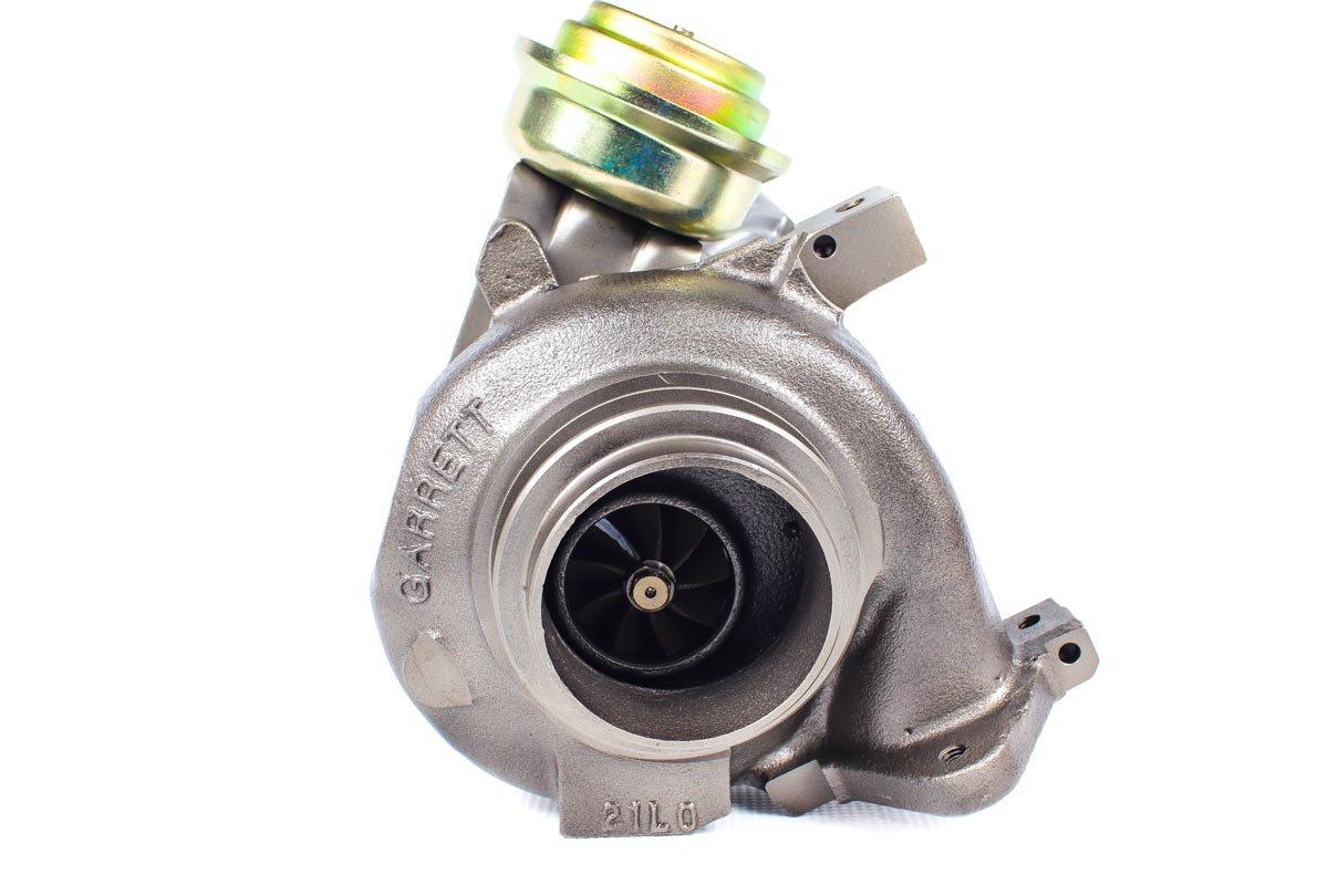 Turbo, układ doładowania o numerze {numerglowny} po zregenerowaniu w profesjonalnej pracowni regeneracji turbosprężarek przed wysyłką do warsztatu
