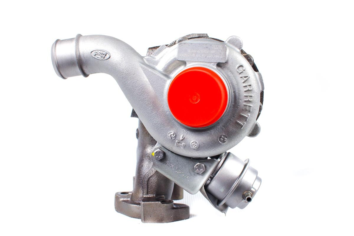 Turbosprężarka numer {numerglowny} po regeneracji w profesjonalnej pracowni regeneracji turbosprężarek przed odesłaniem do kontrahenta
