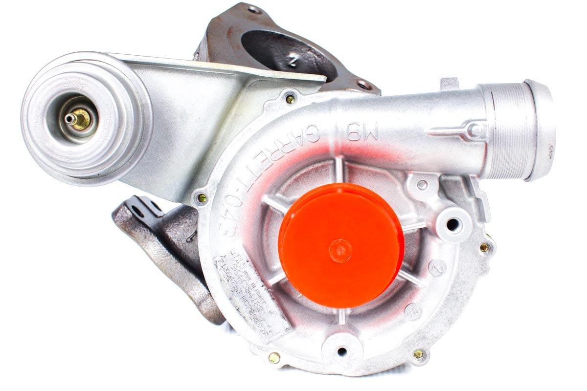 Turbosprężarka numer {numerglowny} po regeneracji w profesjonalnej pracowni regeneracji turbin przed wysyłką do zamawiającego