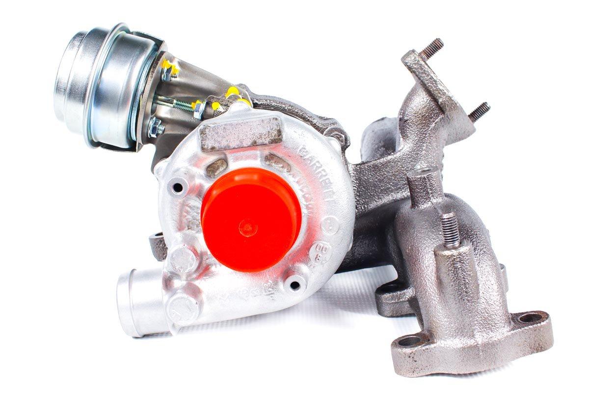 Turbosprężarka o numerze {numerglowny} po zregenerowaniu w najwyższej jakości pracowni przed wysyłką do kontrahenta