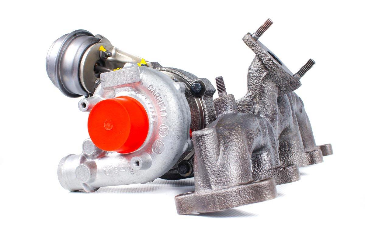 Turbina z numerem {numerglowny} po zregenerowaniu w specjalistycznej pracowni regeneracji turbosprężarek przed nadaniem do Klienta