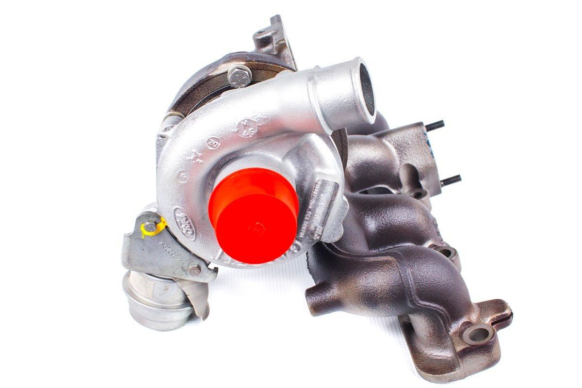 Turbosprężarka numer {numerglowny} po regeneracji w najwyższej jakości pracowni regeneracji turbosprężarek przed wysyłką do Klienta