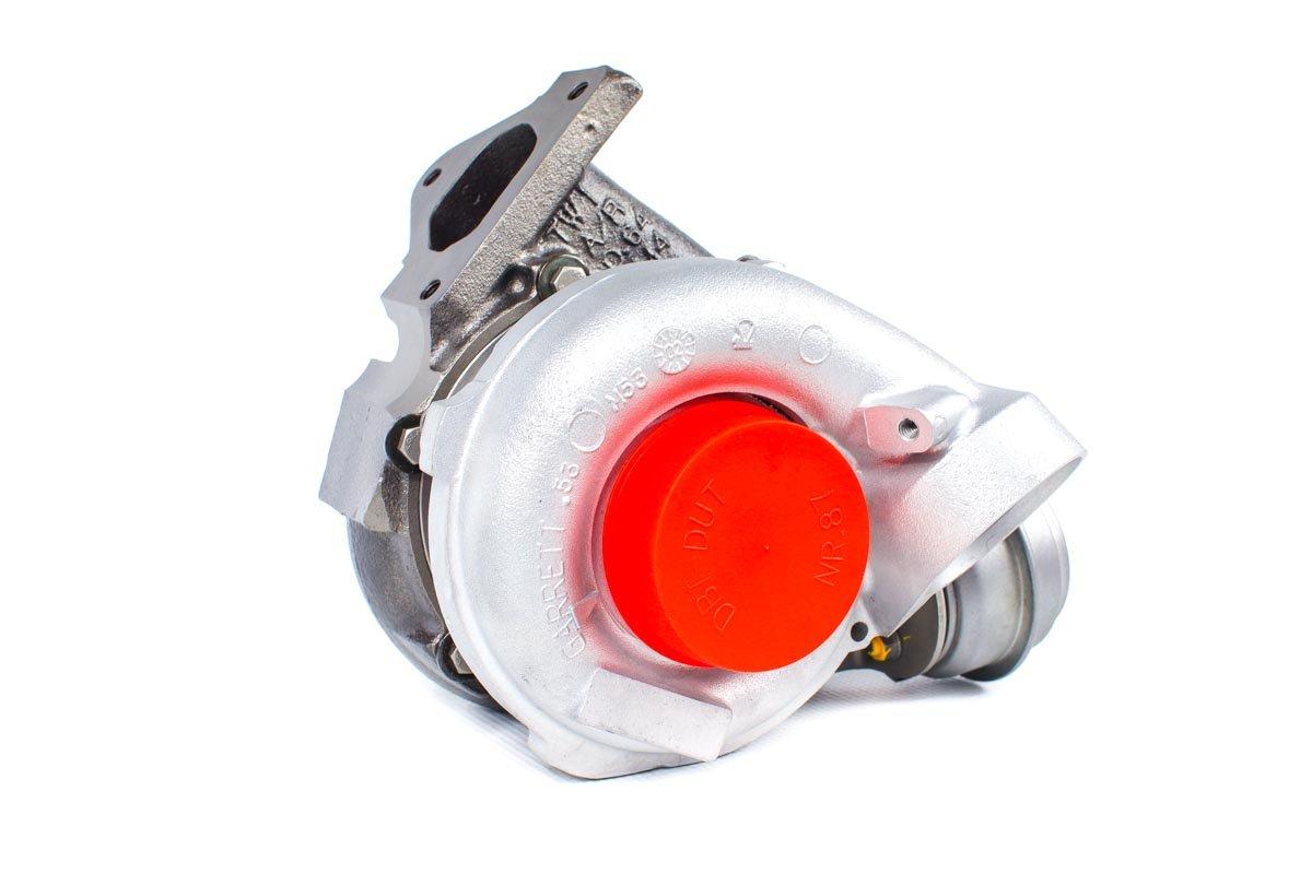 Turbosprężarka numer {numerglowny} po regeneracji w najwyższej jakości pracowni regeneracji turbosprężarek przed odesłaniem do zamawiającej firmy
