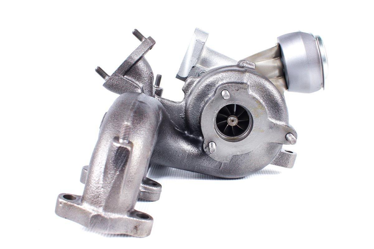 Turbo, układ doładowania o numerze {numerglowny} po przeprowadzeniu regeneracji w najnowocześniejszej pracowni regeneracji turbosprężarek przed wysłaniem do Klienta