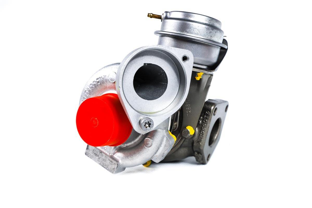 Turbina o numerze {numerglowny} po zregenerowaniu w profesjonalnej pracowni regeneracji turbosprężarek przed wysyłką do zamawiającej firmy
