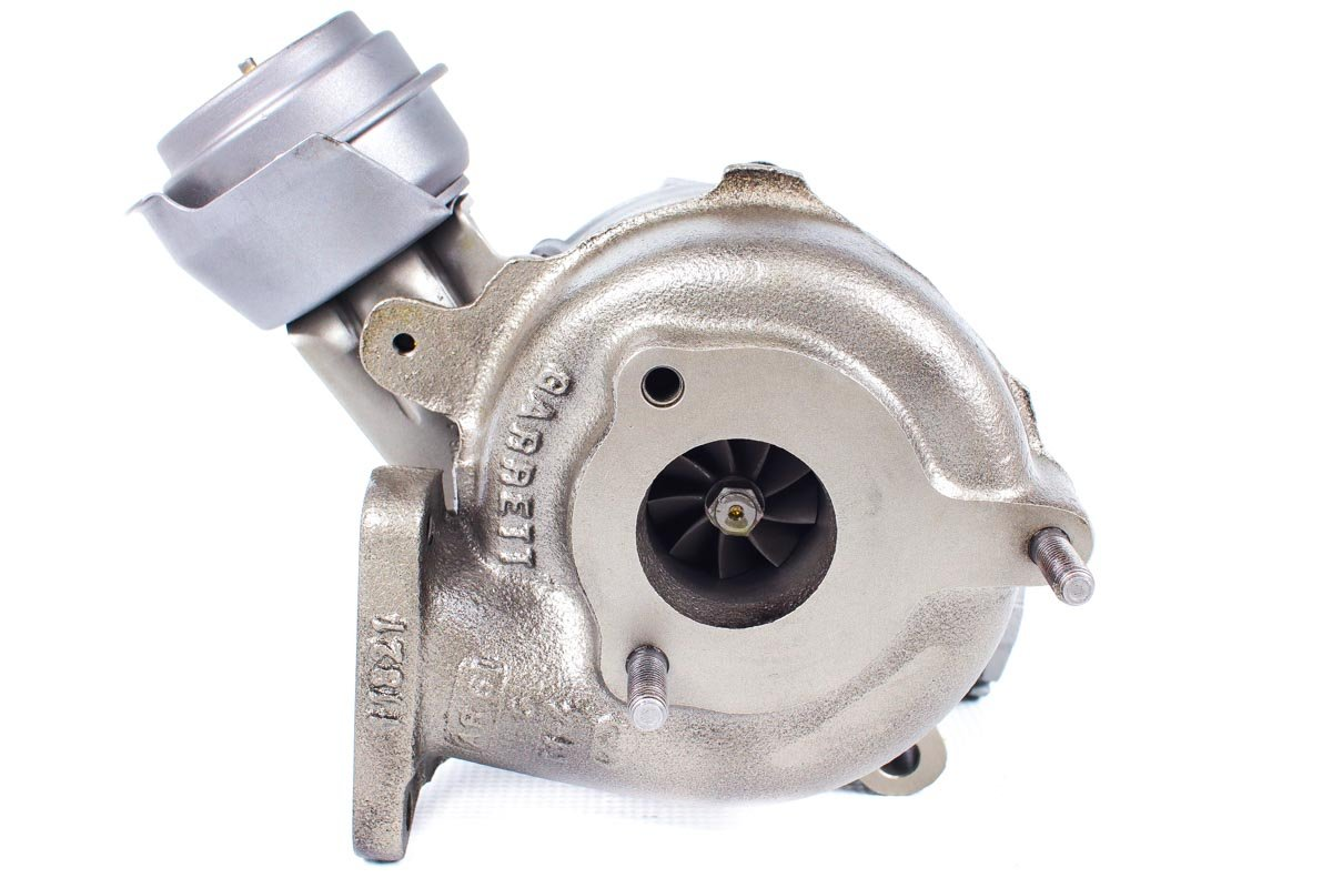 Turbosprężarka numer {numerglowny} po zregenerowaniu w specjalistycznej pracowni regeneracji turbosprężarek przed odesłaniem do zamawiającego