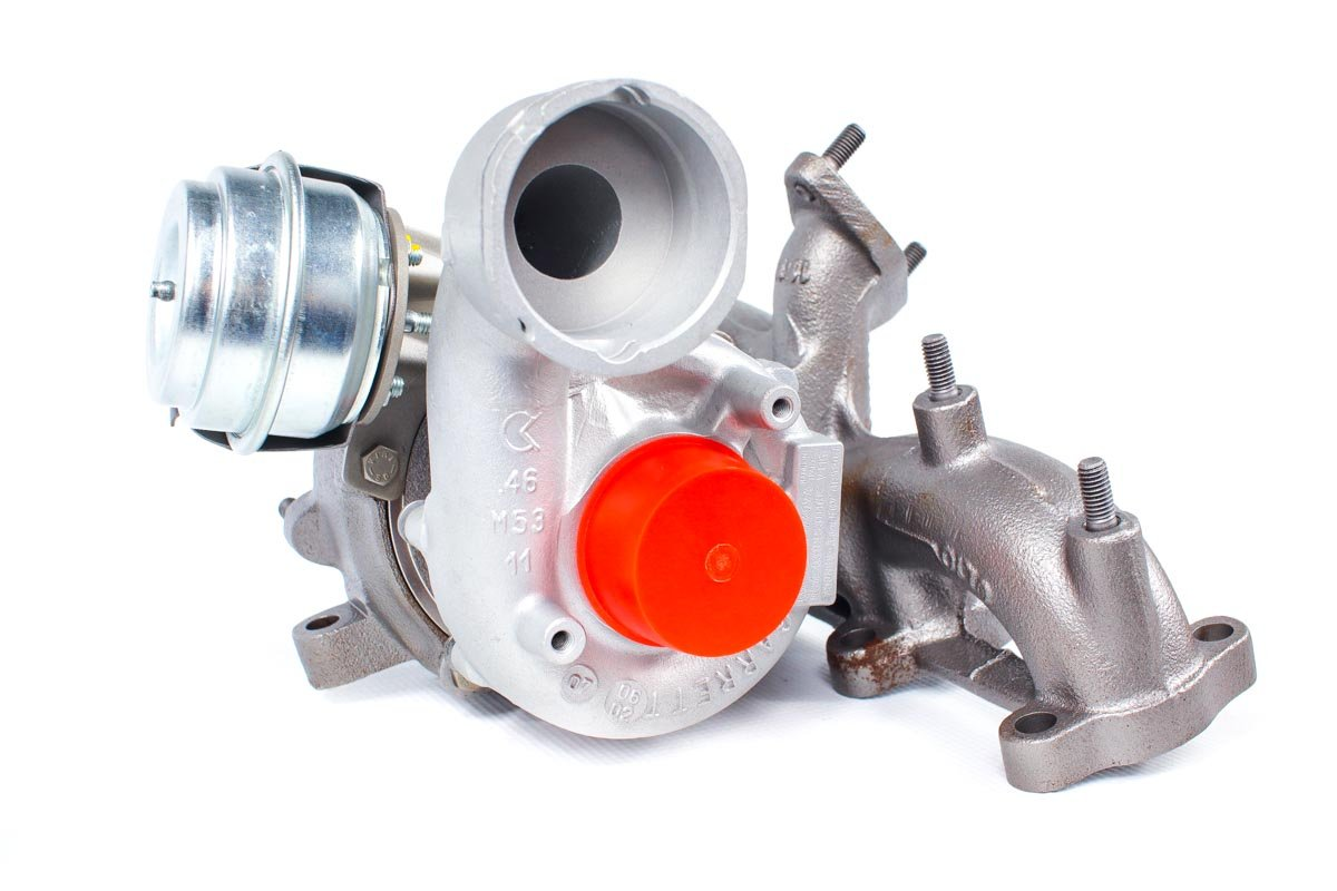 Turbina o numerze {numerglowny} po zregenerowaniu w najwyższej jakości pracowni regeneracji turbosprężarek przed wysyłką do zamawiającej firmy